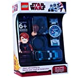 Toy - Clic Time CT46041 - Lego Clone Wars Kinderuhr - Anakin