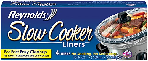 Reynolds Slow Cooker Liners, 4-Count (Pack of 12) (Reynolds Oven Bags Small compare prices)