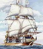 Heller Galion Espagnol Boat Model Building Kit