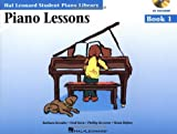 Piano Lessons Book 1 - Book/Enhanced CD Pack: Hal Leonard Student Piano Library
