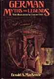 German Myths and Lengends (0517462990) by Donald A. Mackenzie