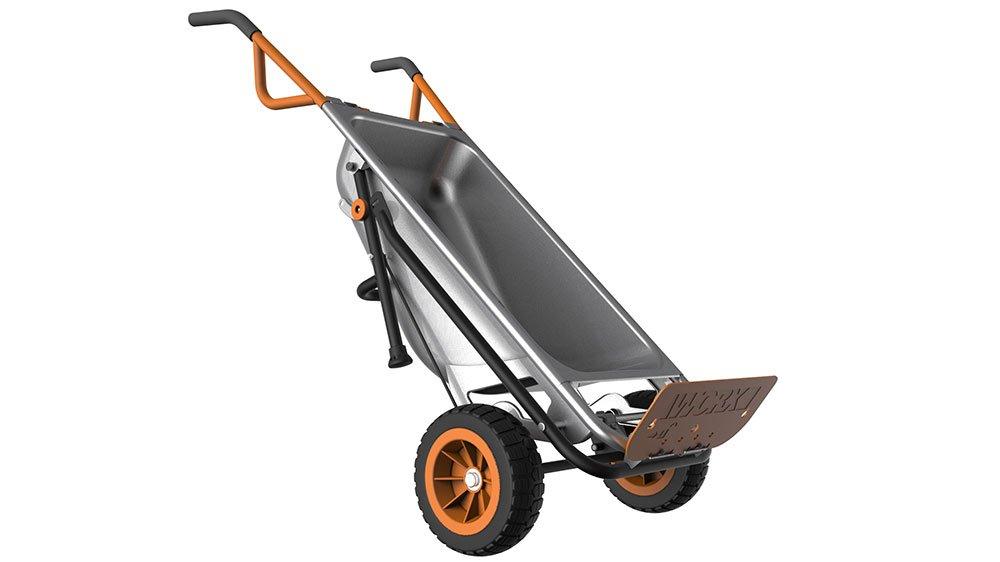 amazoncom worx aerocart wheelbarrow dolly and