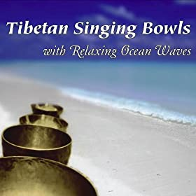 Tibetan Singing Bowls With Relaxing Ocean Waves: Healing Nature Sounds for Meditation, Yoga & Reiki