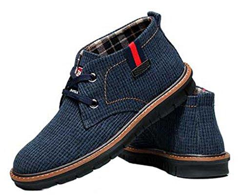 LKPOP MULINSEN Men's Cotton Cloth Classical Shoes Snow Boots