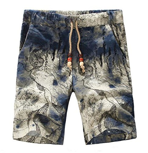 chengyang-mens-casual-linen-cotton-flat-front-shorts-beachwear-big-size-printed-boardshorts-with-poc
