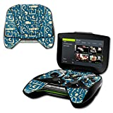 MightySkins Skin NVIDIA Shield Portable – Deco Fish | Protective, Durable Unique Vinyl Decal wrap Cover | Easy to Apply, Remove Change Styles | Made in The USA (Color: Deco Fish, Tamaño: NVIDIA Shield Portable)