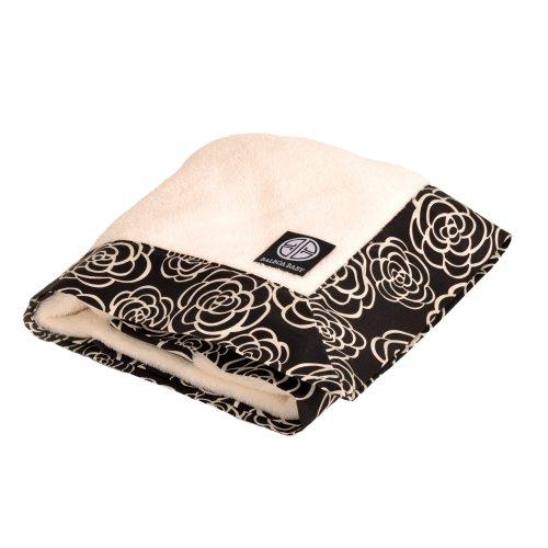 Balboa Baby Simply Soft Blanket, Black Camellia