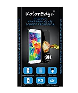 KolorEdge Premium Tempered Glass Screen Protector for Micromax A120 Canvas 2 Colors