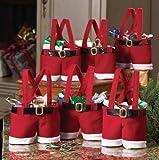 Santa Pants Gift and Treat Bags