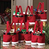 Collections Etc – Santa Pants Gift An…