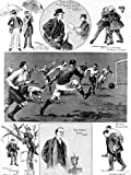 Manchester City Vs. Bolton Wanderers F.A. Cup Final, 1904 Photographic Poster Print, 18x24