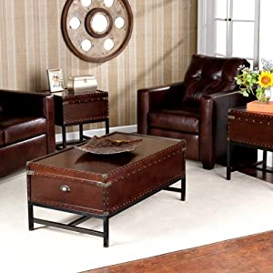 3-Piece Voyager Trunk Table Collection