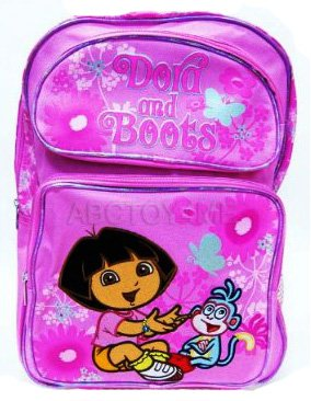Global Design Concepts Inc Dora the Explorer Dora & Boots Butterfly Large Backpack at Sears.com