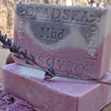 Provence Lavender/ Dead Sea Mud and French Rose Clay Soap ~ Natural Handcrafted...
