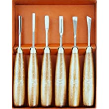 Crown 220 Woodcarving Tool Set, 6 Piece, Boxed