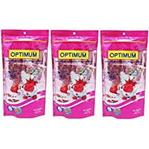 OPTIMUM HIGHLY NUTRITIOUS FISH FOOD For All Aquarium Fish 200g (Pack Of 3)