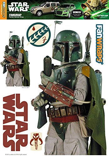 FanWraps Star Wars Boba Fett Single Kit