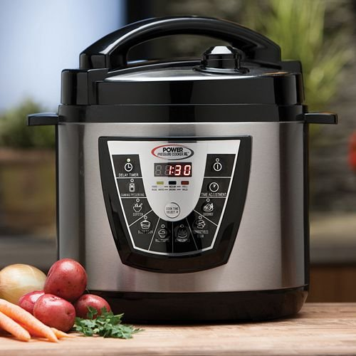 Power Pressure Cooker XL 6 Quart - Silver (Pressure In compare prices)