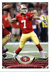2013 Topps NFL Football Card # 336 Colin Kaepernick San Francisco 49ers In Protective... by Topps