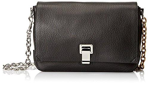 Proenza-Schouler-Womens-Borsa-Small-Courier-Bag-Black