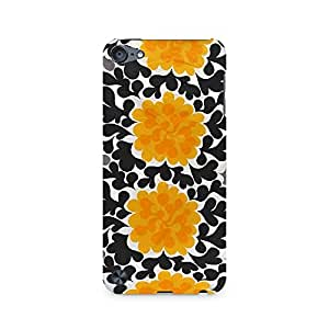 Ebby Yellow Floral Love Premium Printed Case For Apple iPod Touch 6