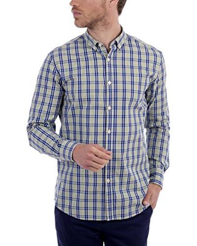 BLUE COAST YACHTING Hemd grün/blau