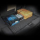 AndyGo Car Trunk Elastic Cargo Net Fit For Chevy Chevrolet Spark Camaro Caprice Captiva Sport Cruze Equinox Sonic Aveo HHR Malibu Impala Tahoe Traverse