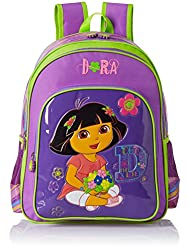 Simba 16 Inches Purple Children's Backpack (BTS-2016)