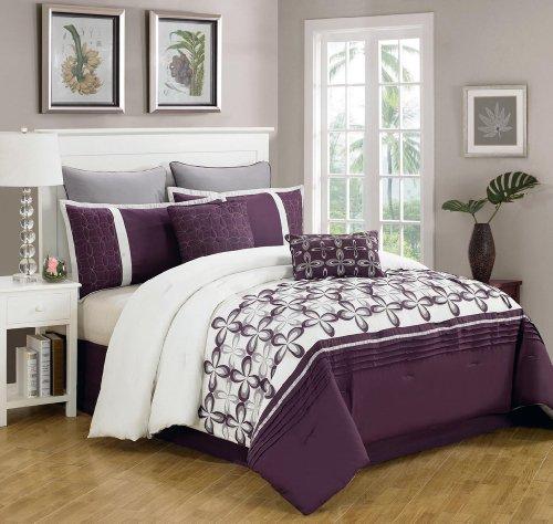 White Queen Bedroom Set 6240 front