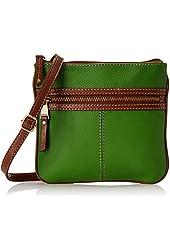 Tignanello Everyday Casual Pebble Leather Cross Body Bag