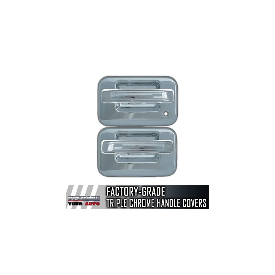 2004 2012 Ford F150 2dr Chrome Door Handle Covers (No