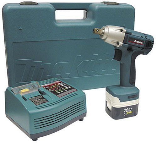 Makita BTW120SA 12 Volt MAKSTAR 12quot Drive Cordless Impact Wrench Kit for sale