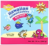Diamond Bakery Hawn Animal Cookies, Maui Sugar, 10 Ounce
