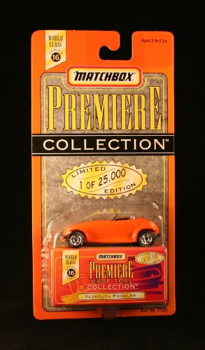 PLYMOUTH PROWLER * 1997 MATCHBOX PREMIERE * Series 16 Drop Tops Collection 1:64 Scale Die-Cast Vehicle * Limited Edition 1 of 25,000 * - 1