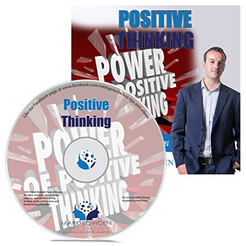 Positive Thinking Hypnosis CD - Live a Happier Life - Become an Optimist and Draw People to You with Your Upbeat Personality (Positive Thinking Relationship compare prices)