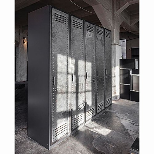 kleiderschrank industrial optik b 225 cm schrank. Black Bedroom Furniture Sets. Home Design Ideas