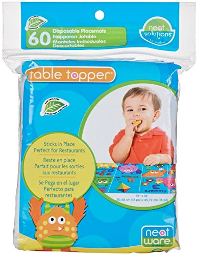 Neat Solutions Neat-Ware Table Topper, 60-Count