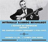 echange, troc Django Reinhardt - Intégrale Django Reinhardt Volume 2 : 1938-1947 (Coffret 14 CD)