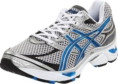 ASICS Men's GEL-Cumulus 13 Running Shoe,White/Royal/Black,11 M US