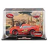 Disney / Pixar CARS 2 Movie Exclusive 1:48 Die Cast Car In Plastic Case INTRO McQueen [CHASE Edition!]