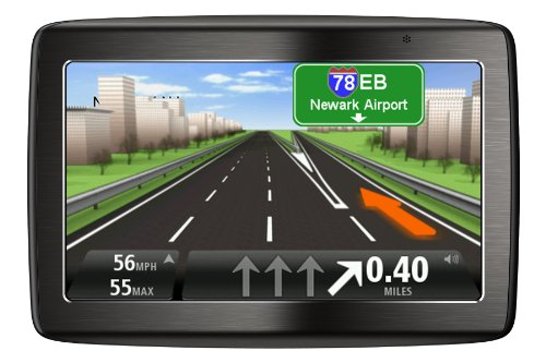 TomTom 1EV5.019.02 VIA 1535T 5-Inch Portable Bluetooth GPS Navigator with Lifetime Traffic (Aluminium)