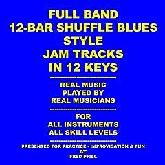 12-Bar Blues Shuffle in F_120 Bpm_full Band Jam Track