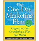 img - for [(The One-Day Marketing Plan: Organizing and Completing a Plan That Works )] [Author: Roman G. Hiebing] [May-2004] book / textbook / text book