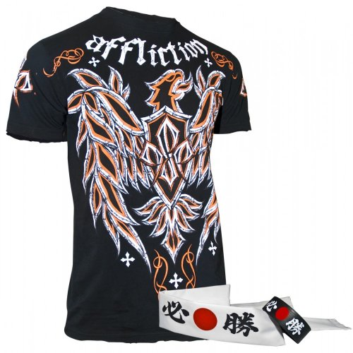 Affliction Georges St-Pierre GSP Micro T-Shirt [Black]