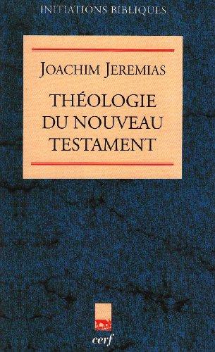 Théologie du Nouveau Testament : La prédication de Jésus