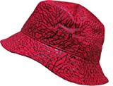 KBETHOS Elephant Skin Bucket Hat Cap - RED