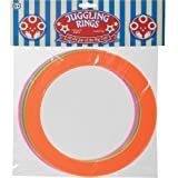 Pack Of 3 Colourful Circus Plastic Juggler Juggling Rings
