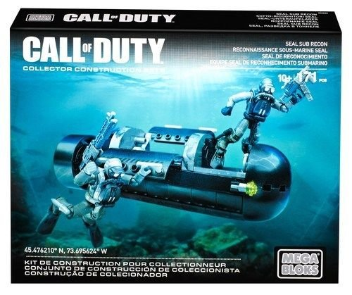 Mega Bloks Call of Duty SEAL Sub Recon Building Set .HN#GG_634T6344 G134548TY32644