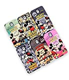 Disney Classic Genuine Silicone Bumper Case Mickey, Minnie, Brown, Gray, Pink, Mint for Galaxy S3, Galaxy S4, Galaxy S5, Galaxy Note2, Galaxy Note 3, iPhone 5 (iPhone 5, Mickey)