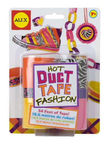 ALEX Toys Do-it-Yourself Wear Hot Duct Tape Fashion - 1